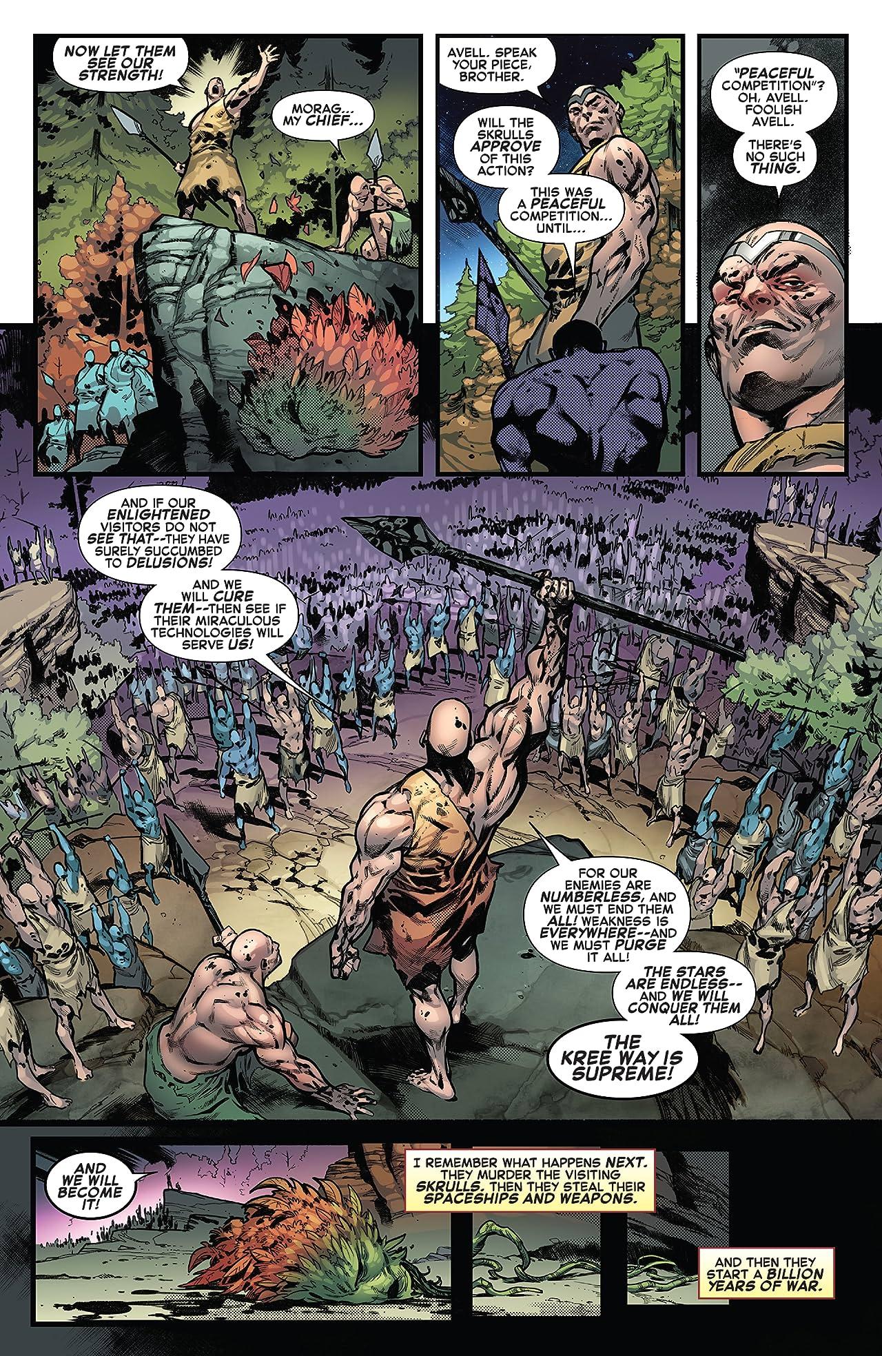Empyre (2020) #0: Avengers