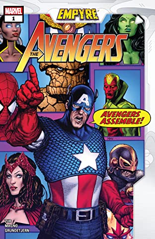 Empyre: Avengers (2020) #1 (of 3)