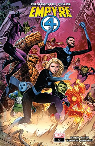 Empyre (2020) #0: Fantastic Four