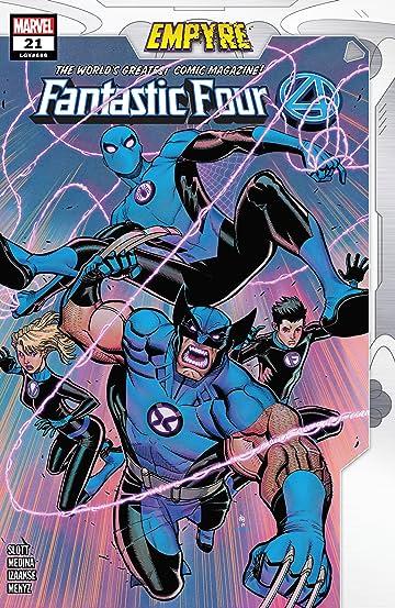 Fantastic Four (2018-) #21