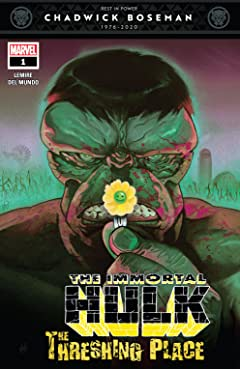 Immortal Hulk: The Threshing Place (2020) #1