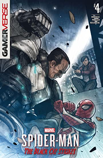 Marvel's Spider-Man: The Black Cat Strikes (2020) No.4 (sur 5)