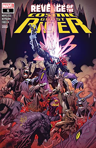Revenge Of The Cosmic Ghost Rider (2019-2020) #5 (of 5)
