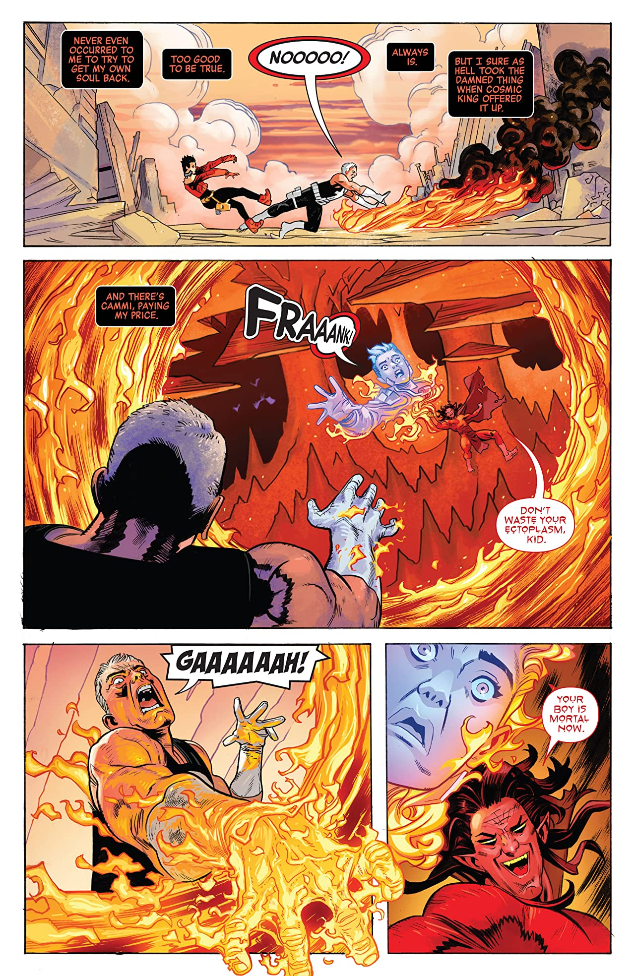 Revenge Of The Cosmic Ghost Rider (2019-2020) No.5 (sur 5)
