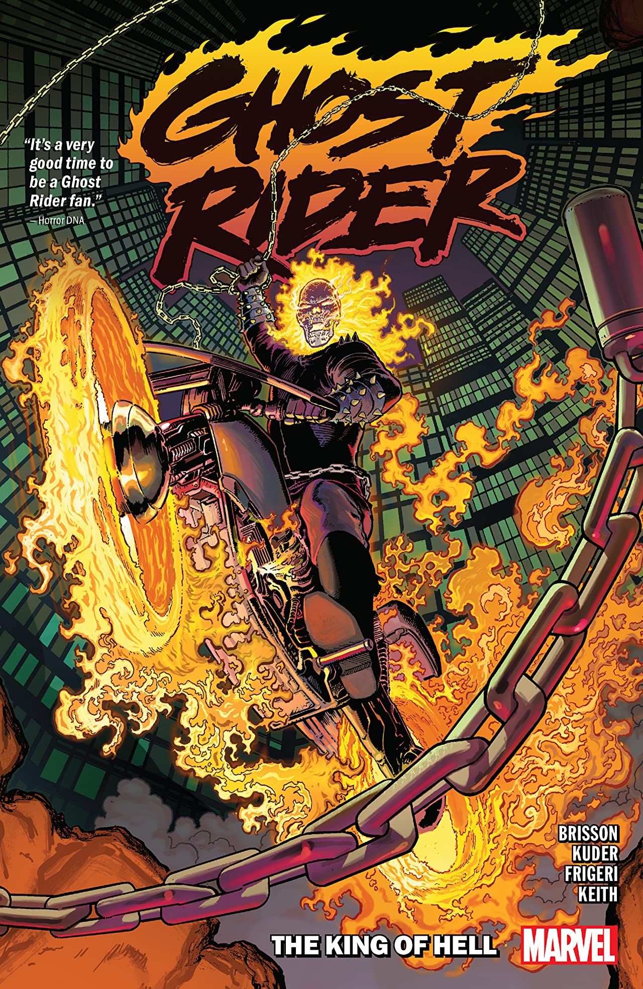 Ghost Rider Tome 1: The King Of Hell