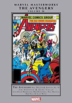 Avengers Masterworks Tome 20