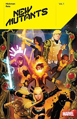 New Mutants by Jonathan Hickman Tome 1