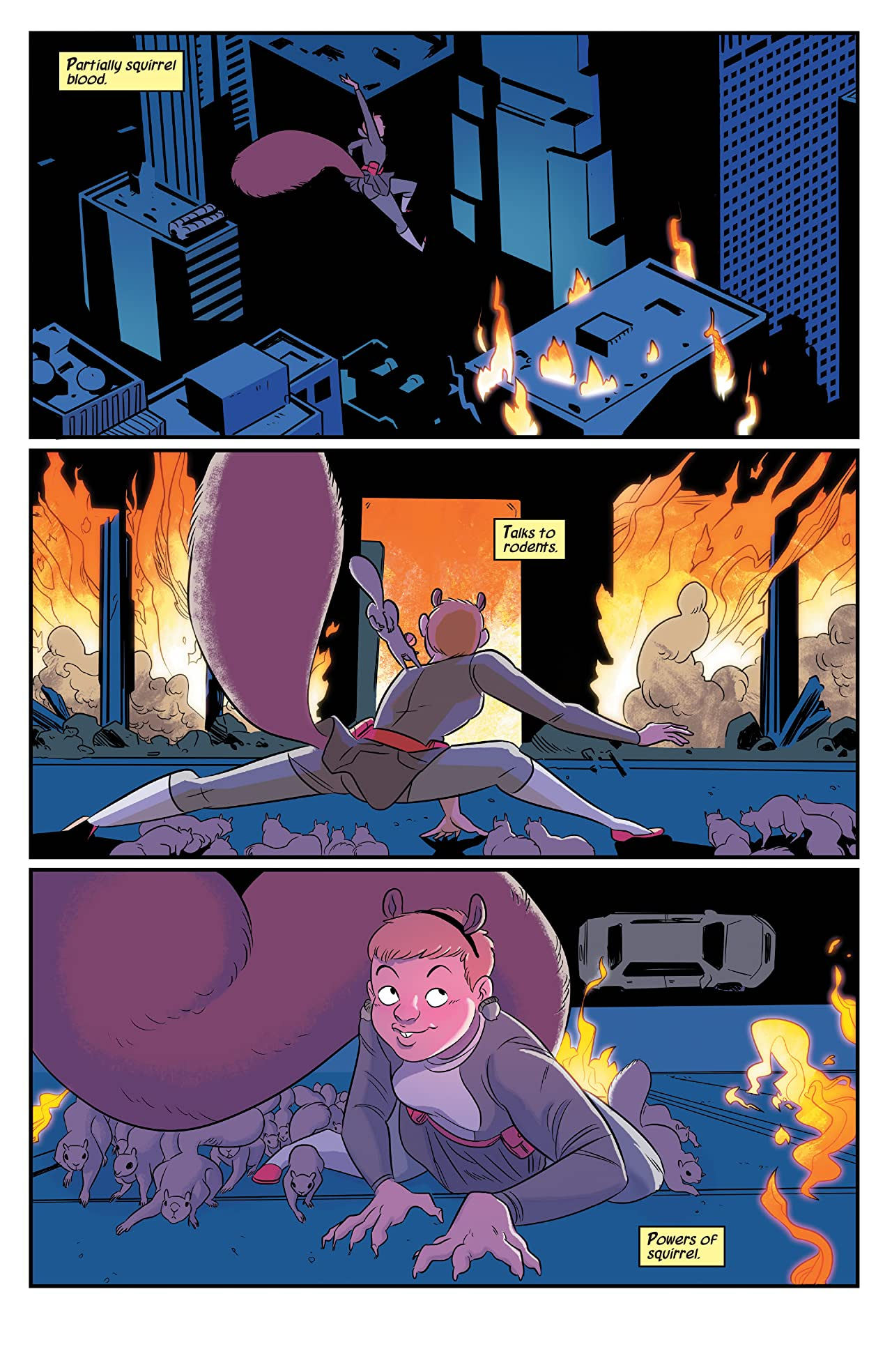 The Unbeatable Squirrel Girl: Big Squirrels Don't Cry