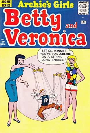 Archie's Girls Betty & Veronica #59