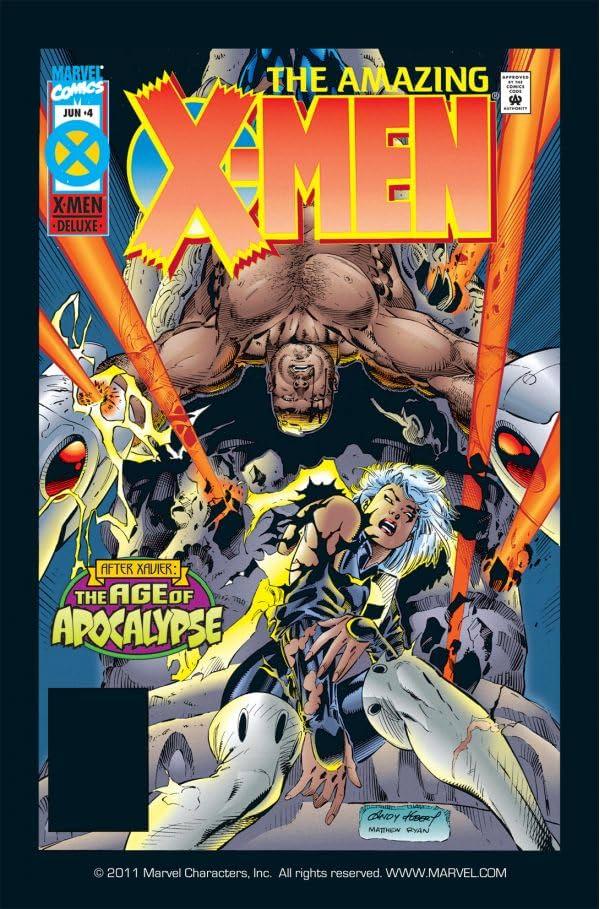 Amazing X-Men (1995) #4