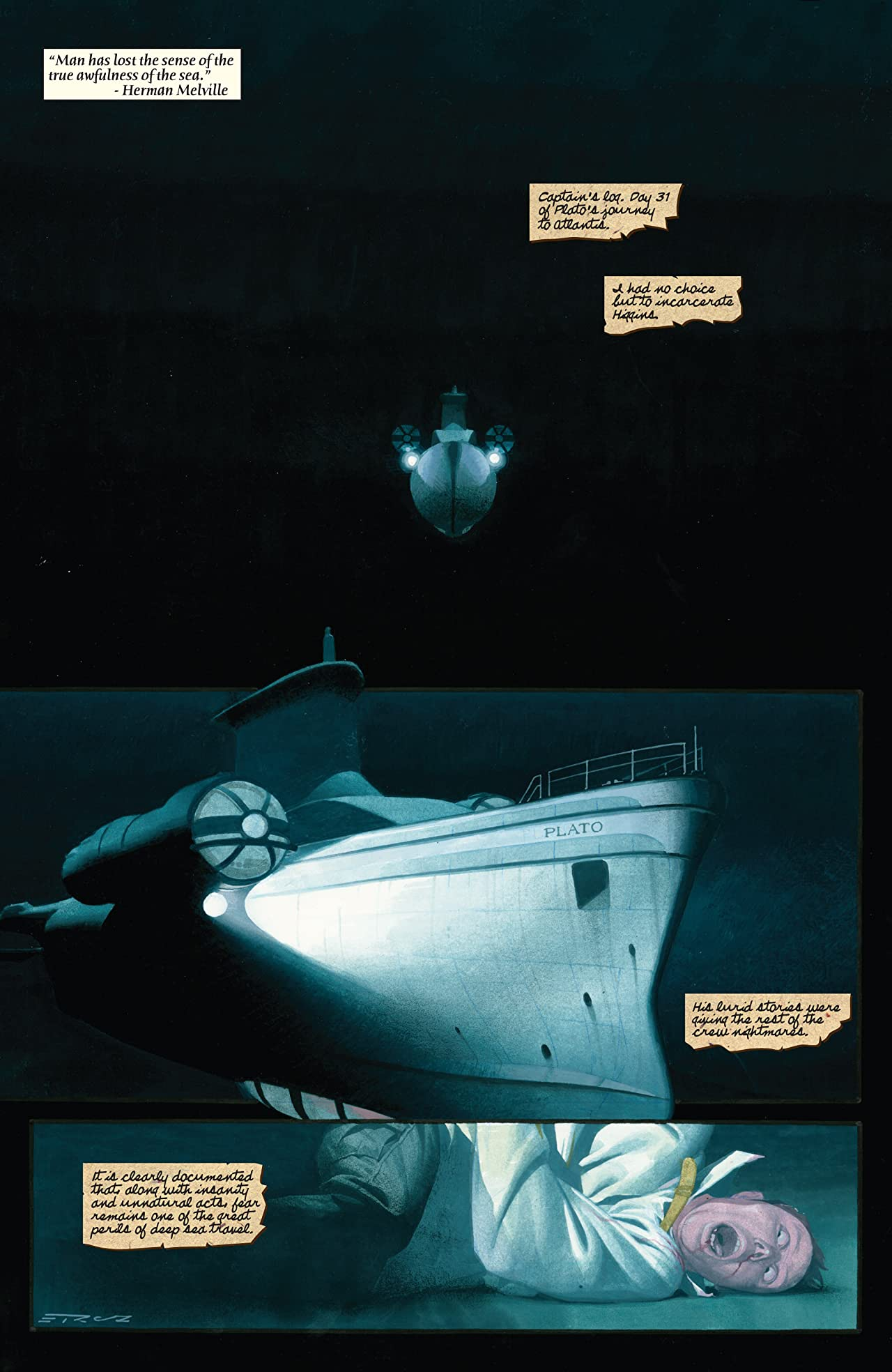 Sub-Mariner: The Depths