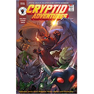 Cryptid Adventures - Tales of the Super Secret Cryptid Defenders No.4