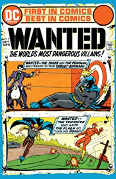 Wanted: The World's Most Dangerous Villains (1972-1973) No.2