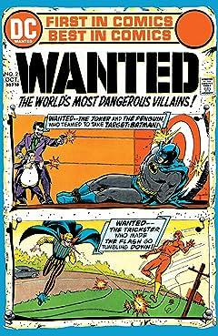 Wanted: The World's Most Dangerous Villains (1972-1973) No.2