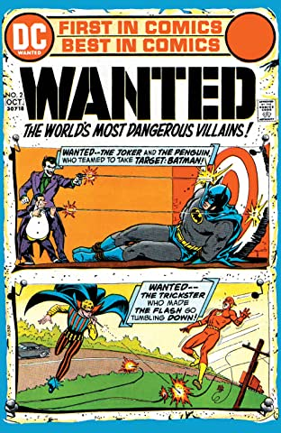 Wanted: The World's Most Dangerous Villains (1972-1973) #2