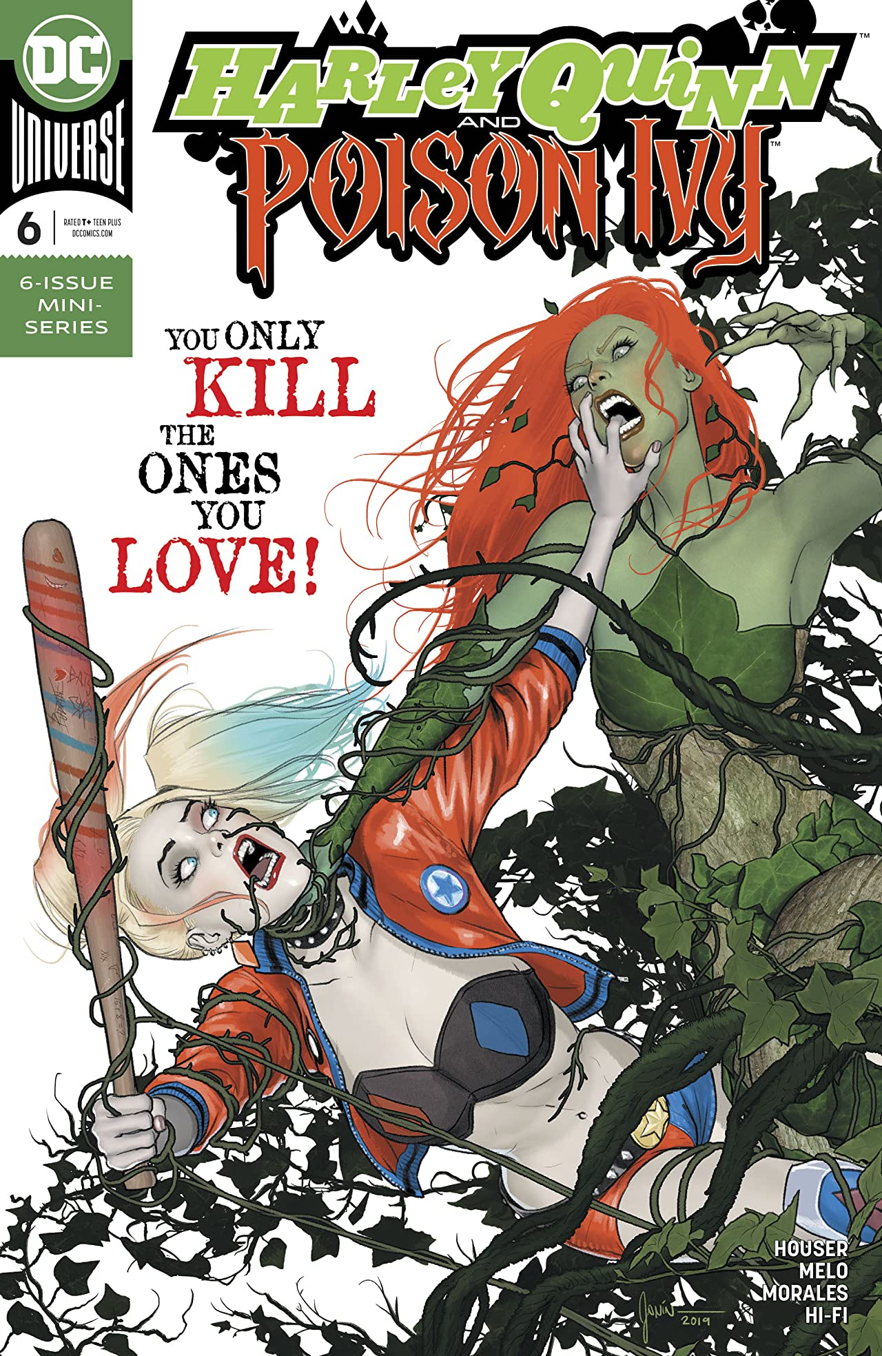 Harley Quinn & Poison Ivy (2019-) No.6