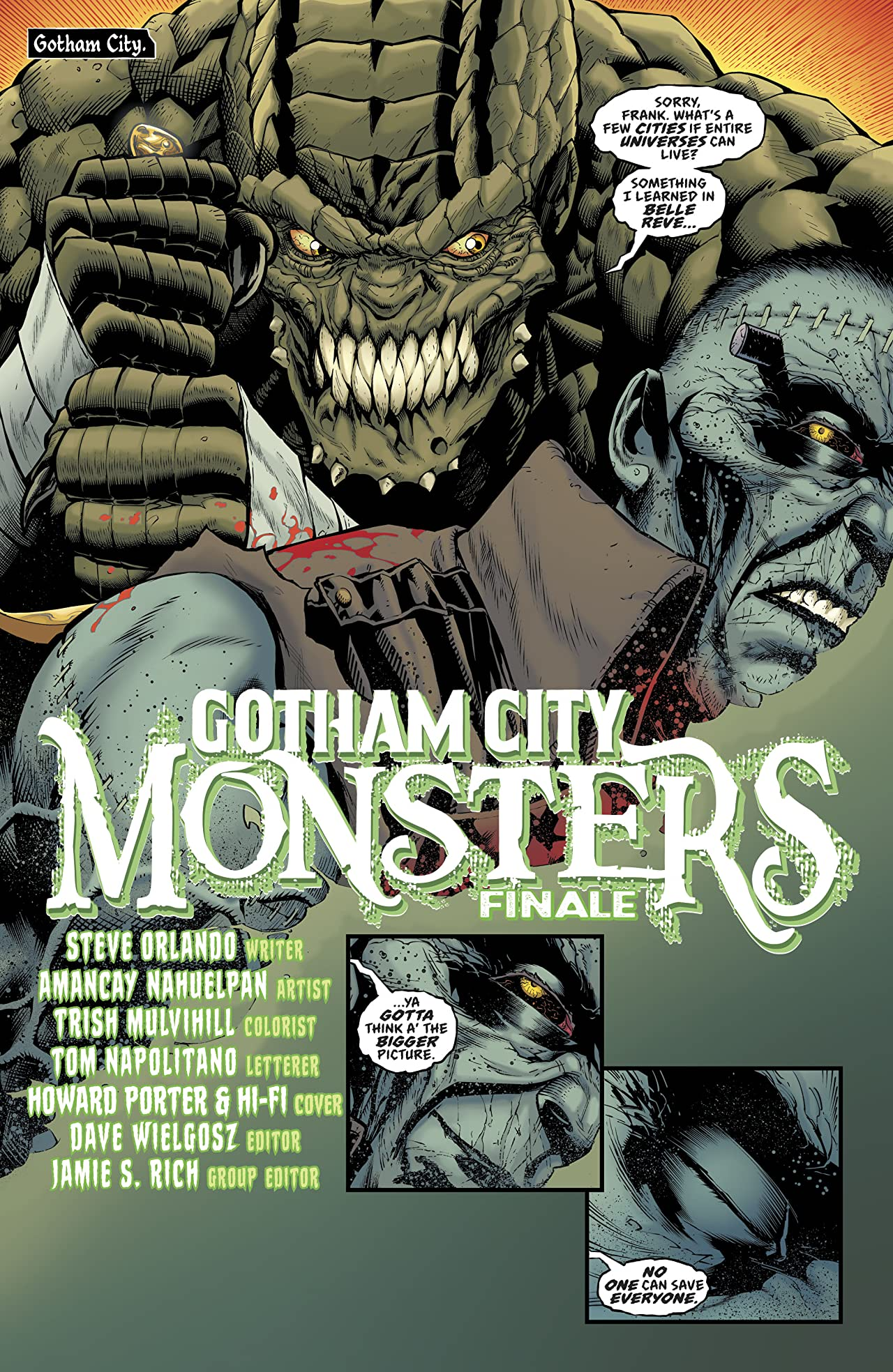 Gotham City Monsters (2019-) #6