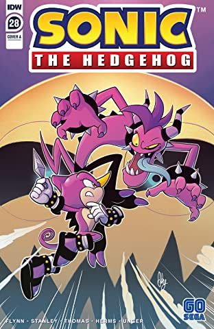 Sonic The Hedgehog (2018-) #28