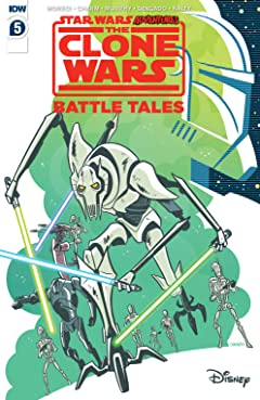 Star Wars Adventures: Clone Wars #5 (of 5)