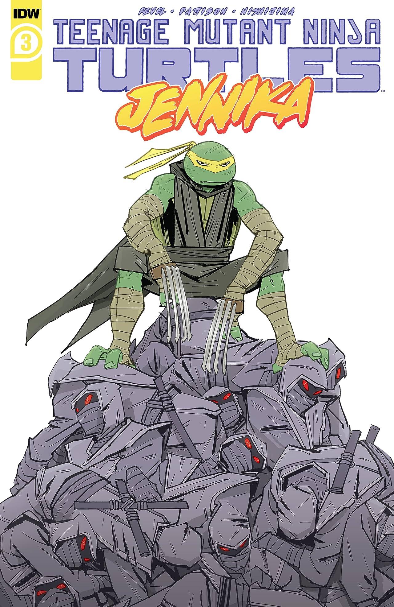 Teenage Mutant Ninja Turtles: Jennika No.3 (sur 3)