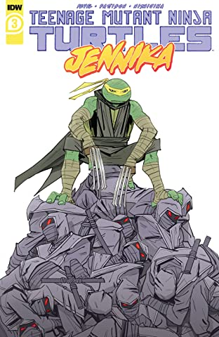 Teenage Mutant Ninja Turtles: Jennika No.3 (sur 3)