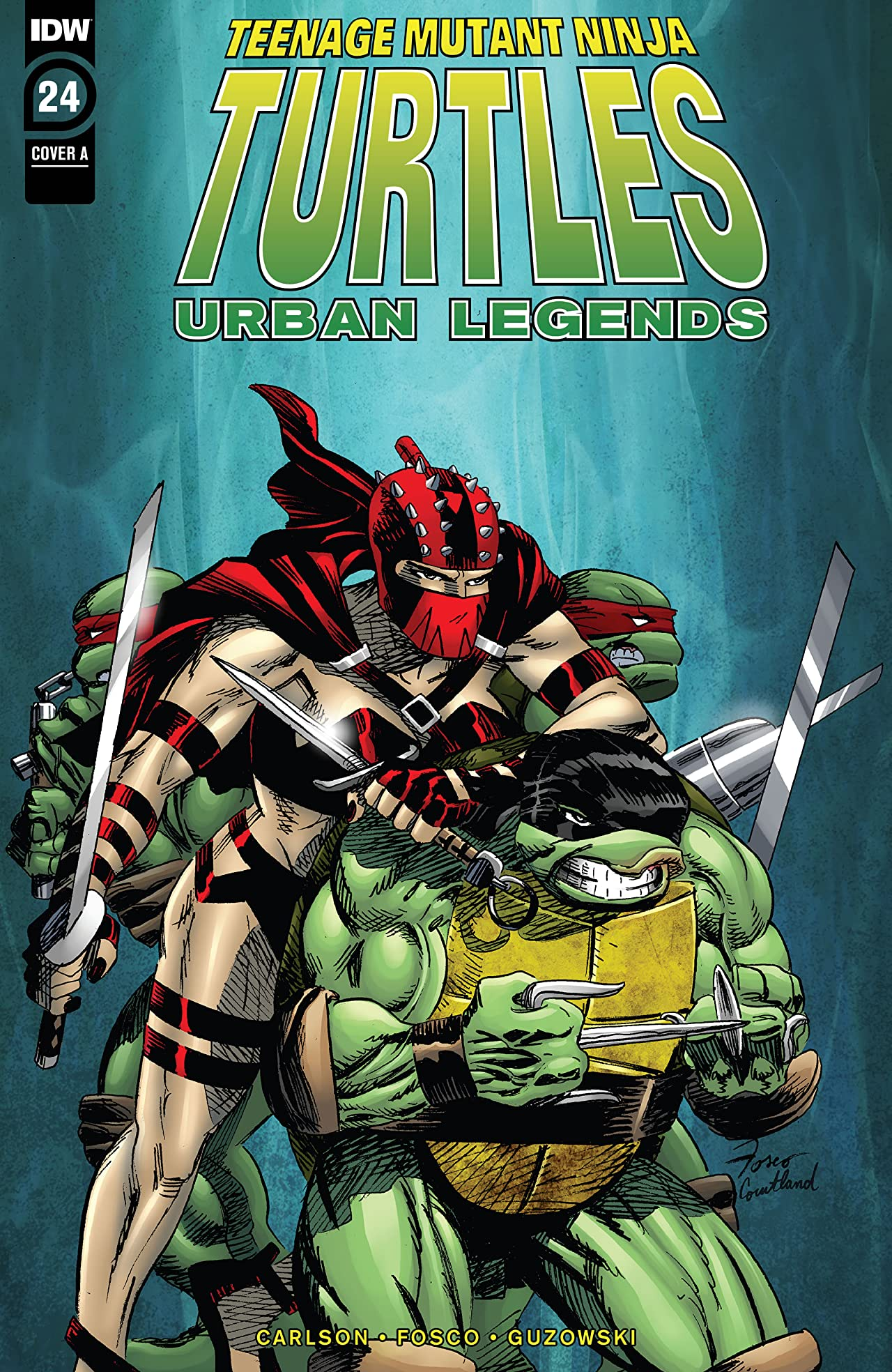 Teenage Mutant Ninja Turtles: Urban Legends No.24