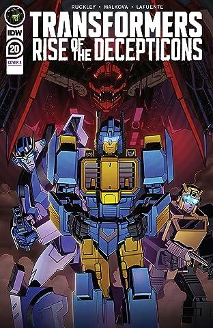 Transformers (2019-) No.20