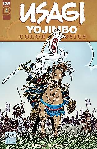 Usagi Yojimbo Color Classics #4