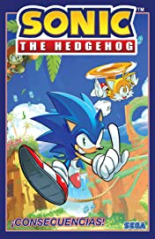Sonic the Hedgehog Tome 1: ¡Consecuencias! (Sonic The Hedgehog, Vol 1: Fallout! Spanish Edition)