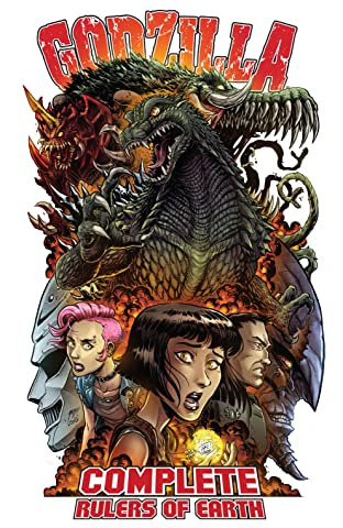 Godzilla: Complete Rulers of Earth Tome 1