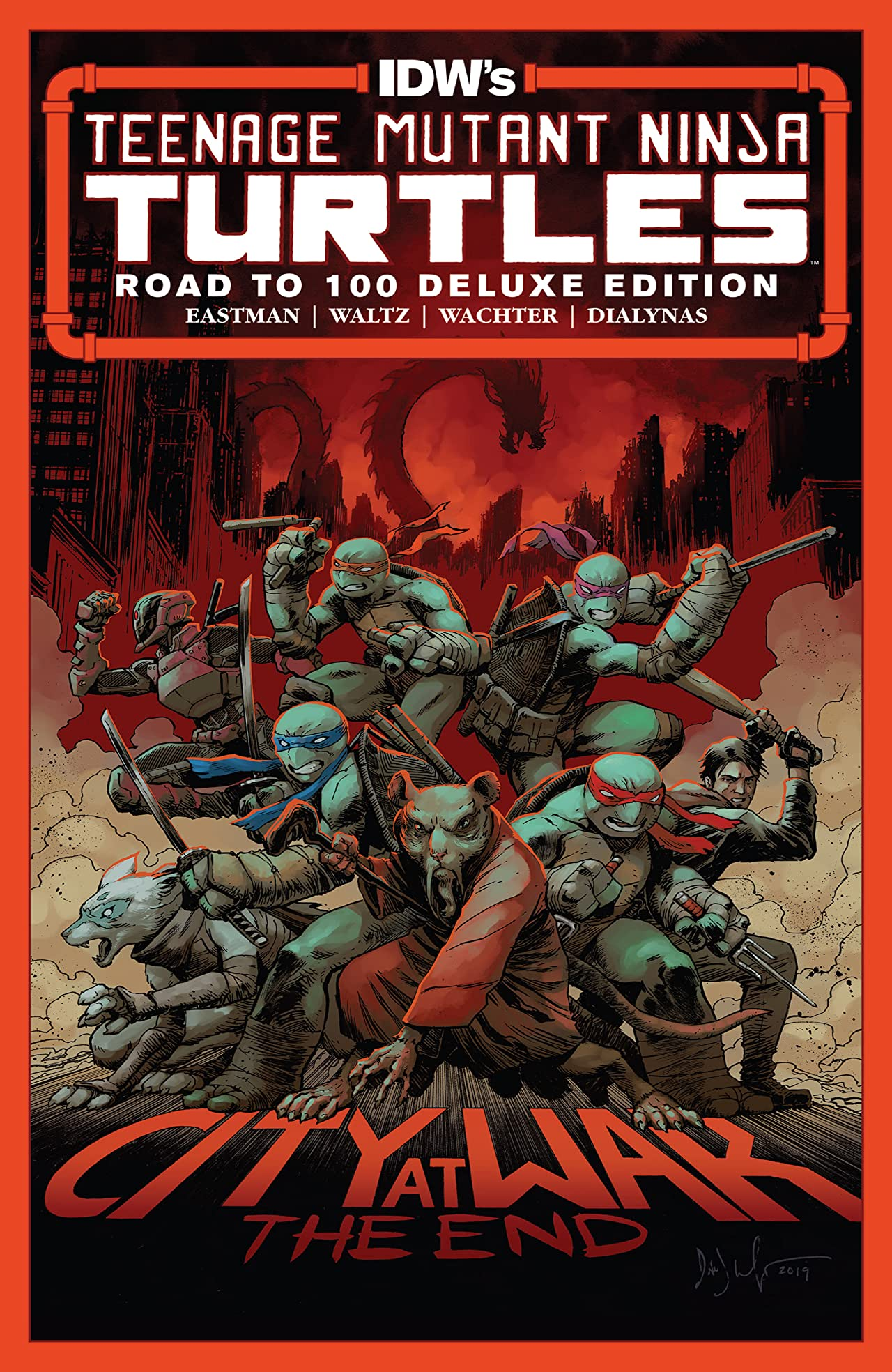 Teenage Mutant Ninja Turtles #100: Deluxe Edition