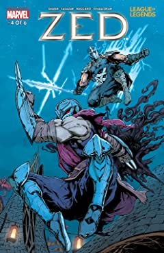 League Of Legends: Zed #4 (of 6)