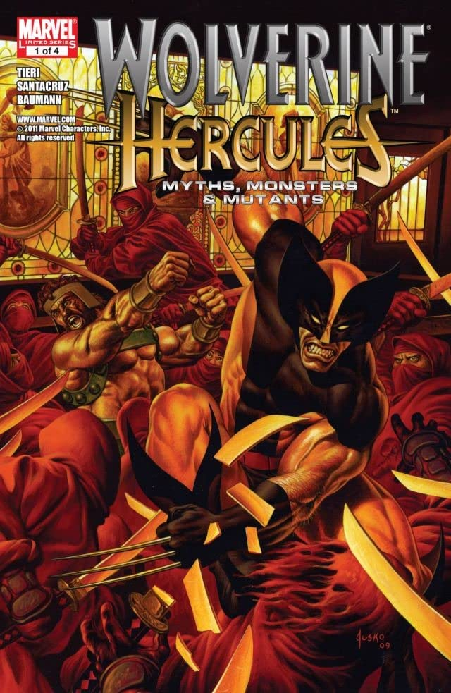 Wolverine/Hercules: Myths, Monsters and Mutants #1