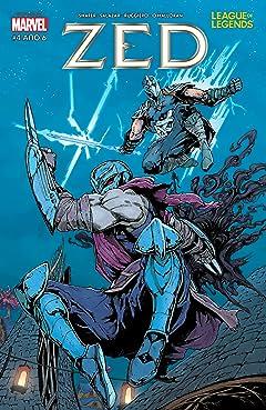 League Of Legends: Zed (Greek) #4 (of 6)
