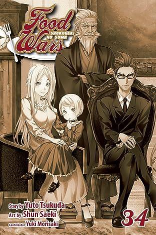 Food Wars!: Shokugeki no Soma Tome 34: Crossed Knives