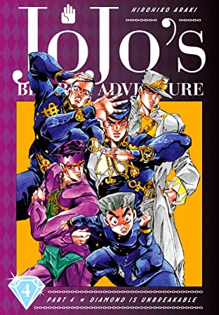 JoJo's Bizarre Adventure: Part 4--Diamond Is Unbreakable Vol. 4