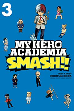 My Hero Academia: Smash!! Vol. 3