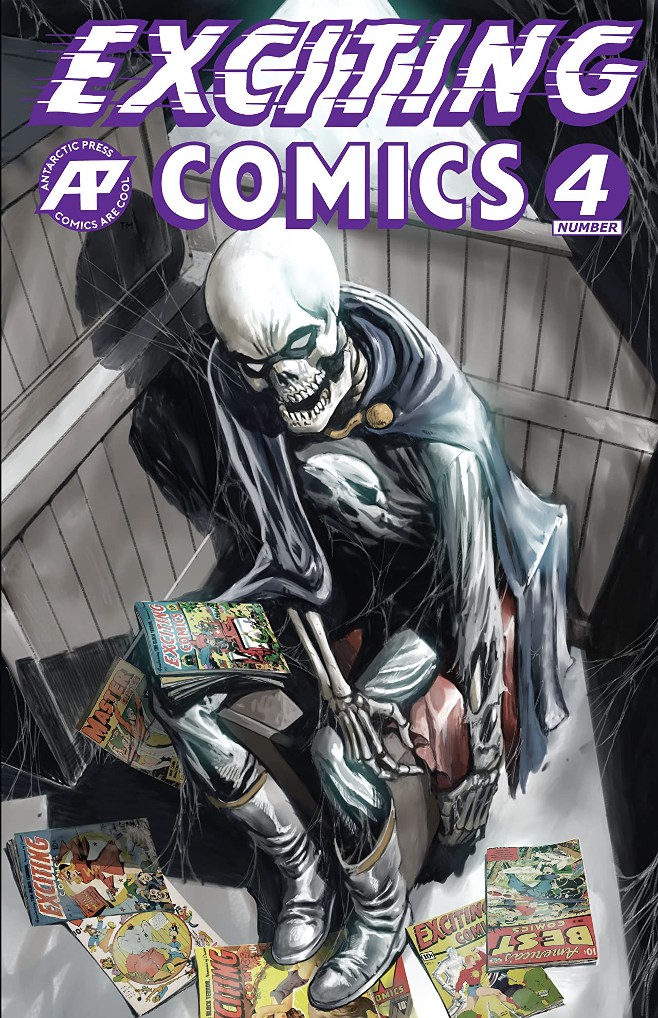 Exciting Comics #4