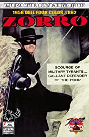 AM Archives Zorro 1958 Dell Four Color #882