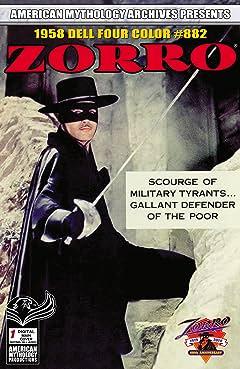 AM Archives Zorro 1958 Dell Four Color #882