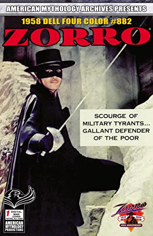 AM Archives Zorro 1958 Dell Four Color No.882