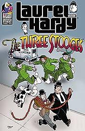 Laurel & Hardey Meet The Three Stooges No.1