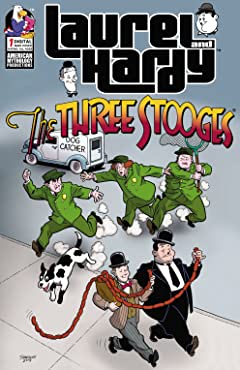 Laurel & Hardey Meet The Three Stooges #1