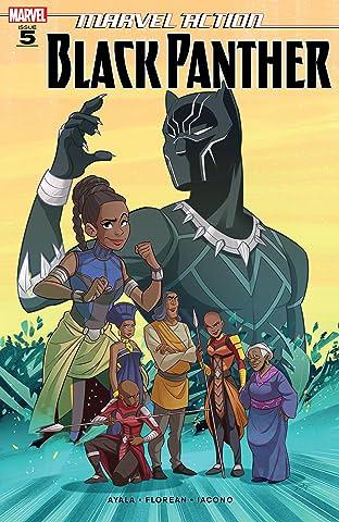 Marvel Action Black Panther (2019-) #5
