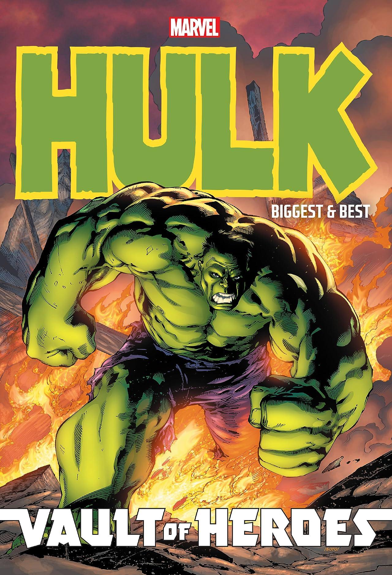 Marvel Vault Of Heroes: Hulk - Biggest And Best