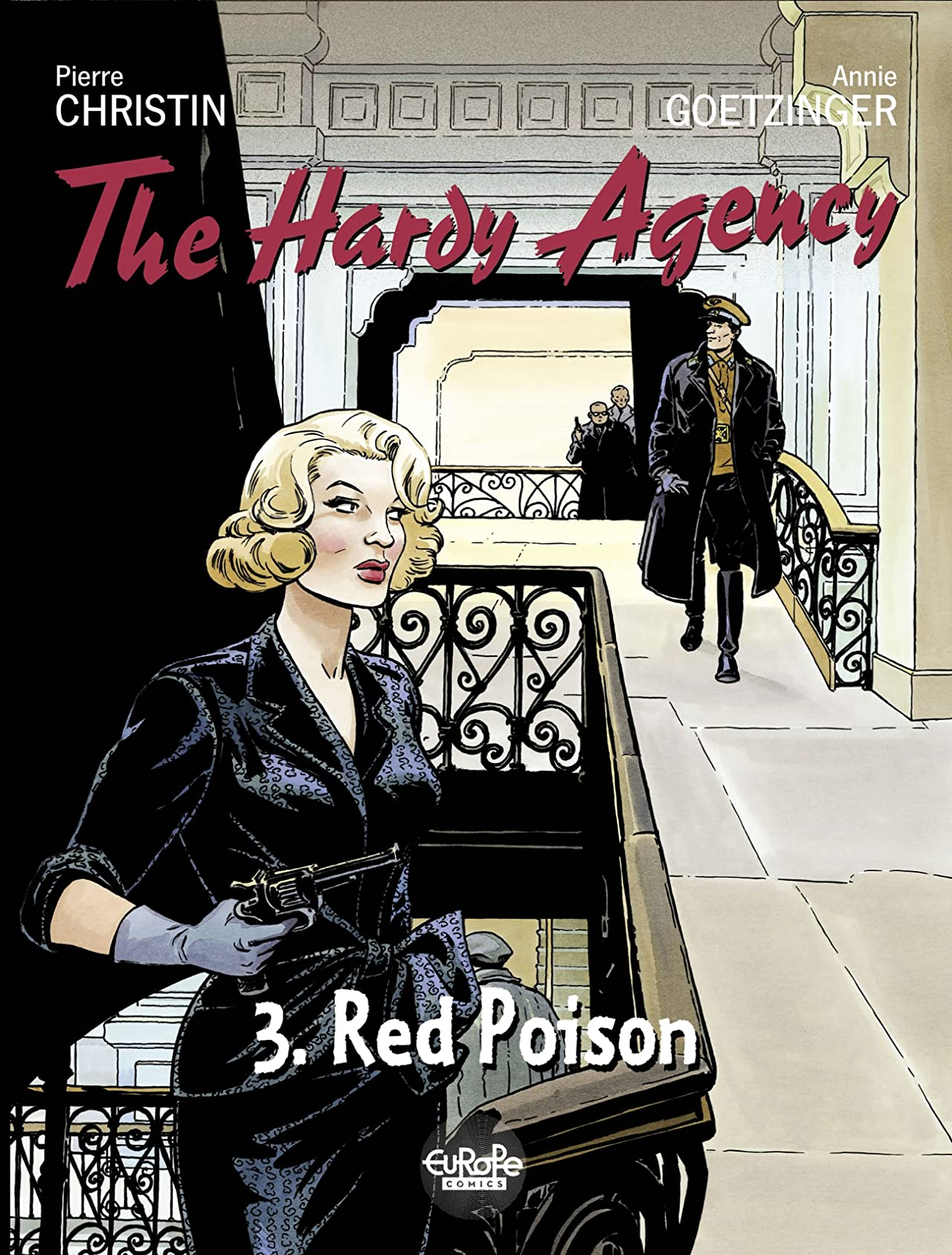 Hardy Agency Vol. 3: Red Poison