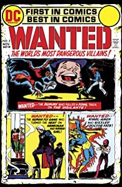 Wanted: The World's Most Dangerous Villains (1972-1973) No.3