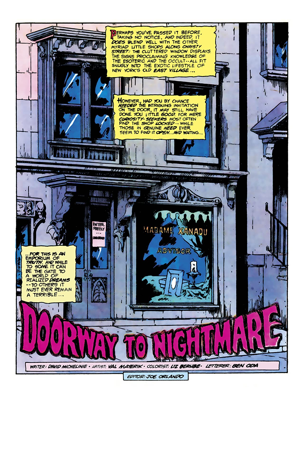 Doorway to Nightmare (1978) #1