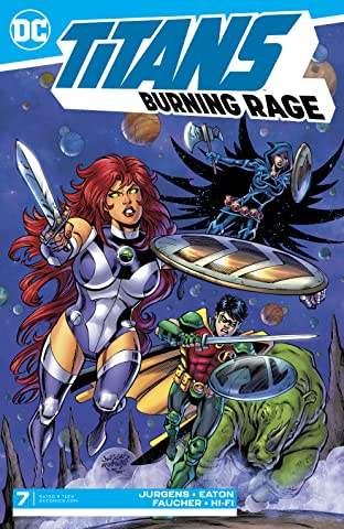 Titans: Burning Rage (2019-) #7