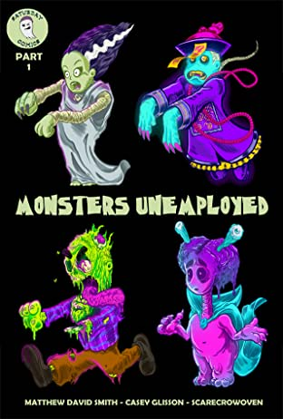 Monsters Unemployed #1